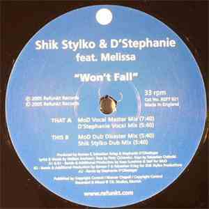 Shik Stylkø & D'Stephanie - Won't Fall