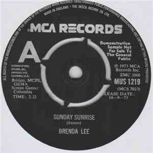 Brenda Lee - Sunday Sunrise