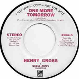 Henry Gross - One More Tomorrow