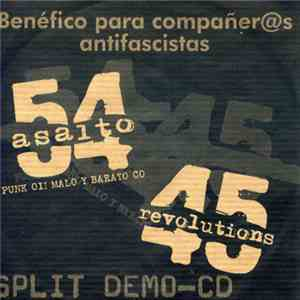 Asalto 54 / 45 Revolutions - Split Demo-CD